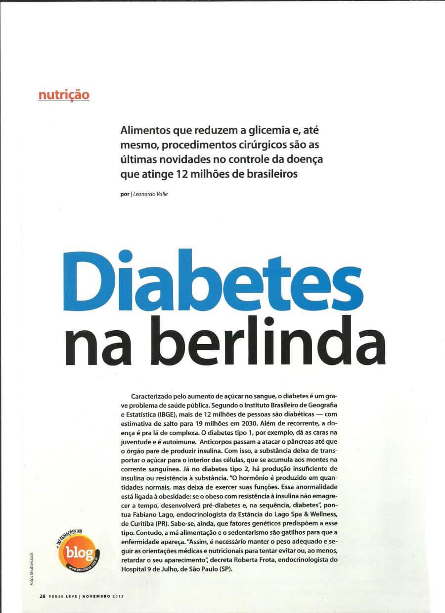 Diabetes na berlinda